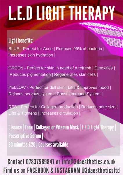 led light therapy 3d lipo